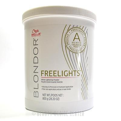 Wella Blondor Lightening (Wella Professionals Blondor Freelights White Lightening Powder 28.2oz (800gr))