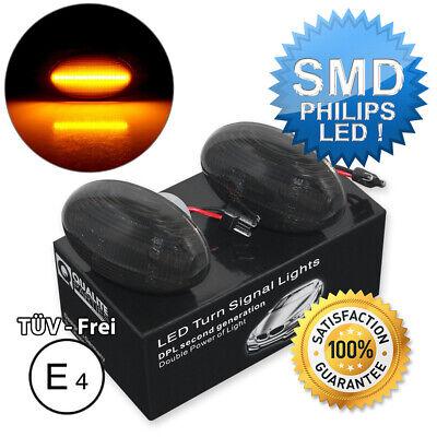 2x LED SEITENBLINKER BLINKER SCHWARZ MERCEDES W168 W639 W447 SMART W450 W452