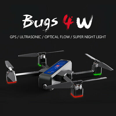 MJX Bugs 4W GPS RC Drone 2K 5G Foldable Quadcopter W/ 3 Battery Handbag USA G7H2