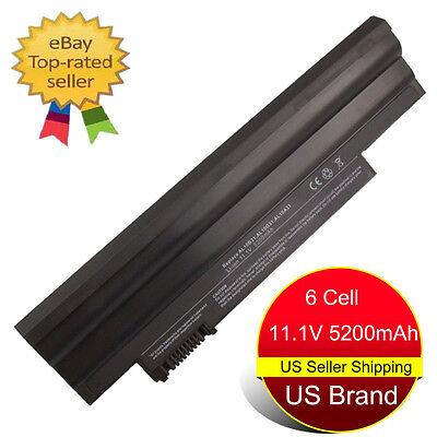 6-cell Battery for ACER Aspire ONE 522 D255 D255E D257 AL10B31 AL10A31 Laptop