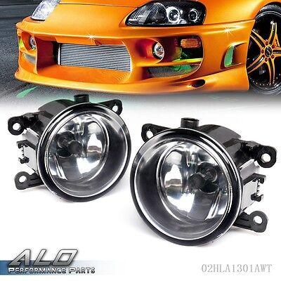 Right + Left Side Fog Light Lamp + H11 Bulb For Acura Honda Ford Nissan Suzuki