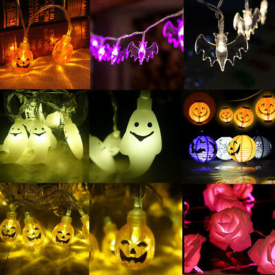 Hot New Halloween Pumpkin Fairy String Light Outdoor Garden Party Lamp Lights