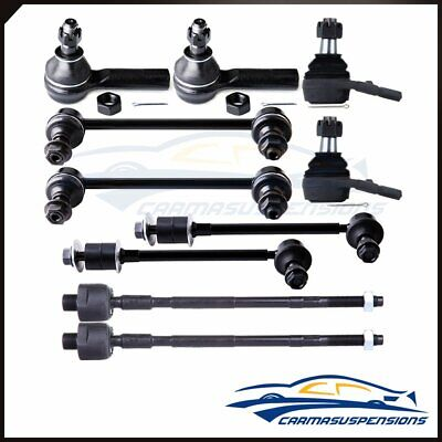Fits 1996-2004 Nissan Pathfinder 10pcs Complete Front & Rear Suspension Parts Nissan Pathfinder Ball Joint