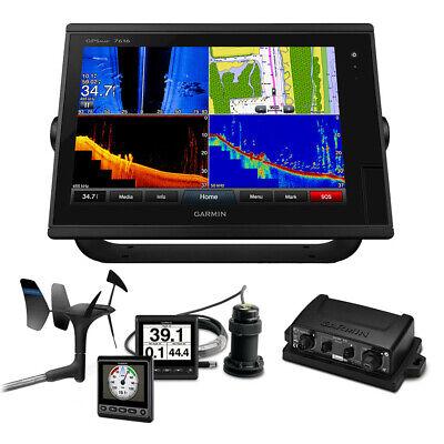 Garmin Marine GPSMAP 7616 Sail Plus Pack w/Wind Depth & Speed Bundle w/GNX 20