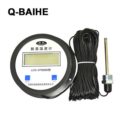 High Precision Digital Thermometer With Probe Temperature Measuring Instrument