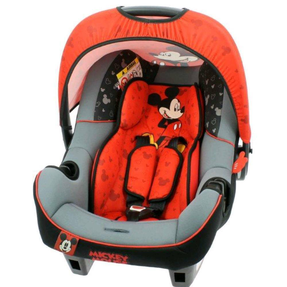 Car Seat Disney Mickey Mouse