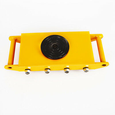12 Ton 360industrial Heavy Duty Machine Dolly Skate Roller Machinery Mover