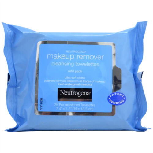 Neutrogena Makeup Remover Cleansing Towelettes Refill Pack -