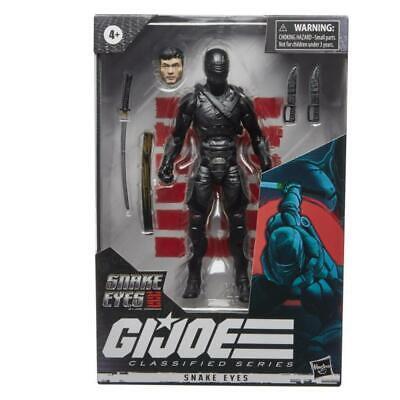 """GI Joe Classified Series 6"""" Origins Snake Eyes Action Figure IN STOCK"""