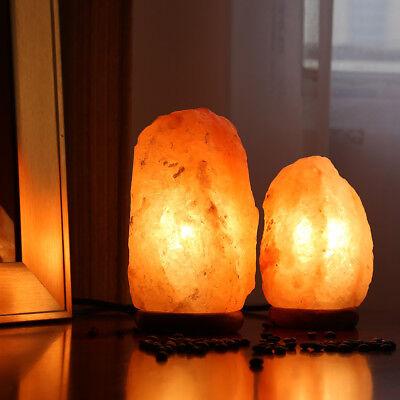 Himalayan Natural Air Purifier Salt Lamp Rock Tower Pack 2 7 5 8 5Inch 4 6Lbs