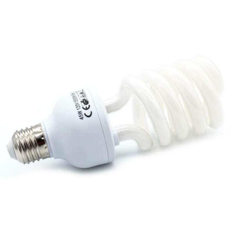 110V 135W 5500K Saving Energy Daylight Photo Photography Studio Light Bulb