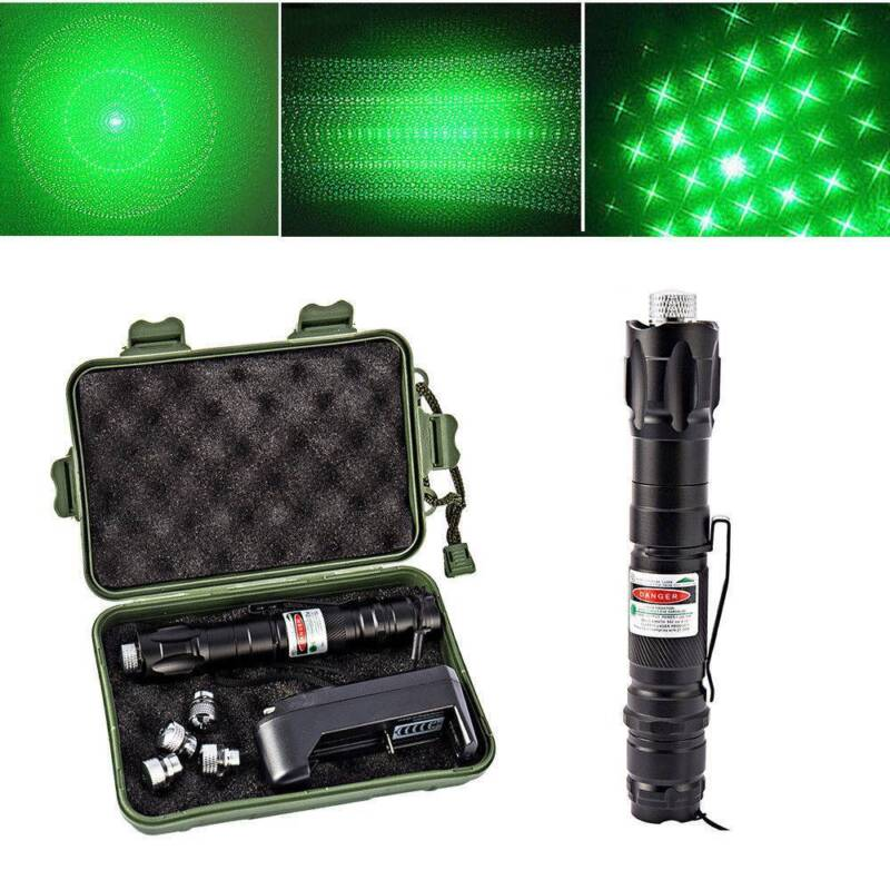 50Miles Assassin Powerful Green Laser Pointer Lazer Pen 5mw