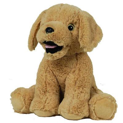 Cuddly Soft 16 inch Stuffed Lab Dog - We stuff 'em...you love 'em! - Bear Factor