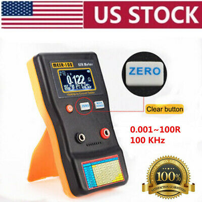 Professional Mesr100 V2 Ranging In Circuit Esr Capacitor Tester Meter 0.001100r