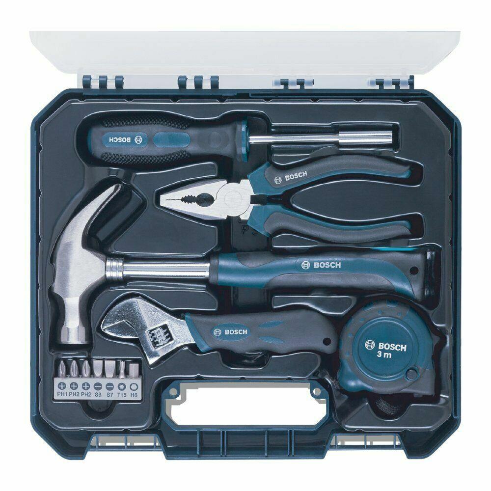 Bosch Hand Tool Kits Blue 12 Pcs Tool Set Standard Metric Me