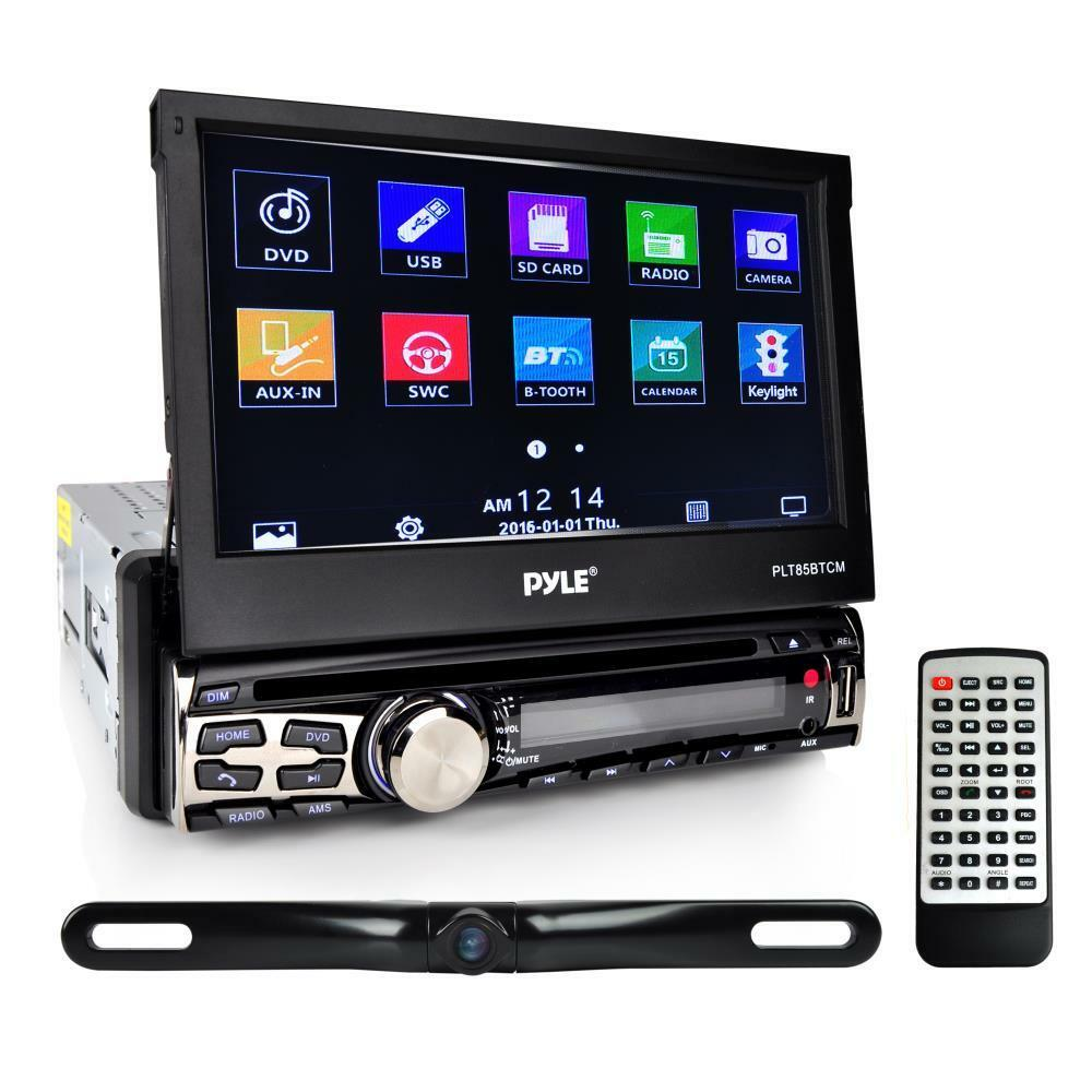"Pyle PLT85BTCM 7"" Single Din Tochscreen Bluetooth Headunit R"