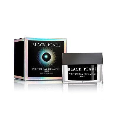 New  Black Pearl Perfect Day Cream 45   Spf 25 Dead Sea Of Spa 50Ml Free Ship