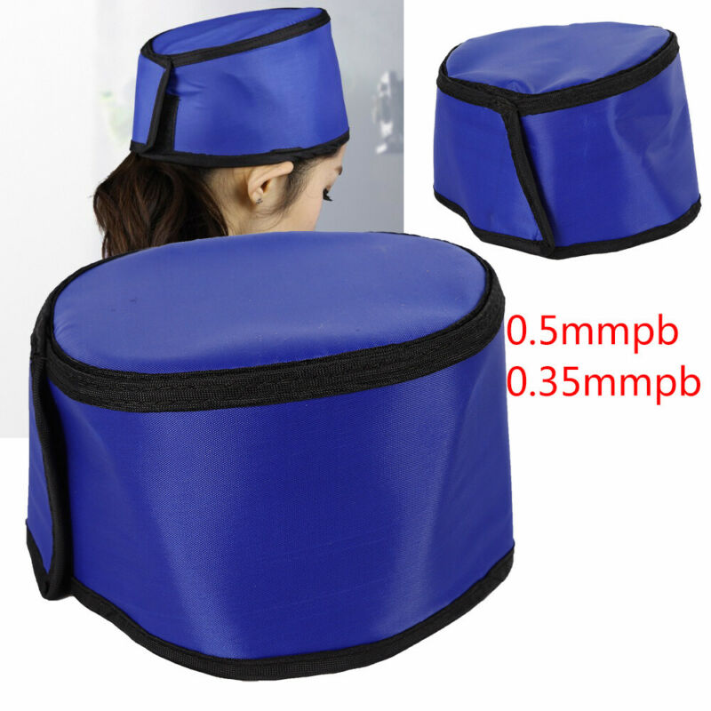 0.35/0.5mmpb Safety Blue Lead Rubber X-Ray Inspection Radiation Protection Hats