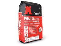 Cement 25kg (Plastic Bag)