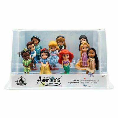 Disney Animators' Collection Deluxe Figurine Playset - 10 pieces - NEW