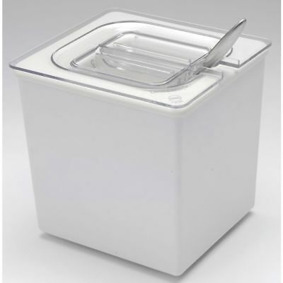 Cal-mil Ice Merchandiser 16 Size White Melamine - 6l X 7w X 6 12h 475-6-15