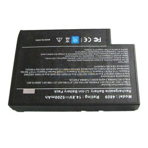 8-Cell Battery for HP Compaq Presario 2100 2200 2500 XE4100 NX9000 NX9010 F4809