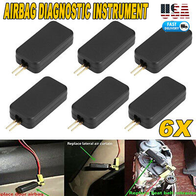 6 X AIR BAG SIMULATOR EMULATOR BYPASS GARAGE SRS FAULT FINDING DIAGNOSTIC NEW US