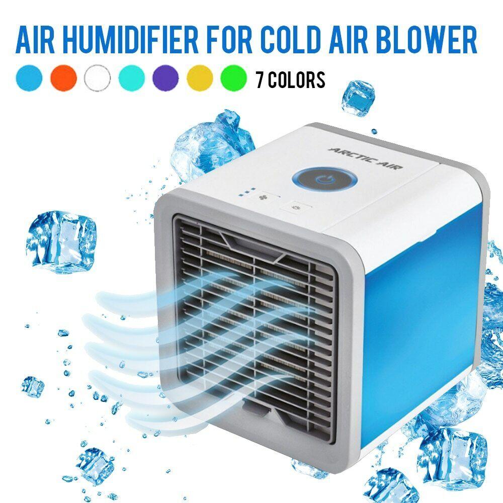 Climatiseur Mobile Mini Humidificateur Air Conditionné Ventilateur USB Neuf
