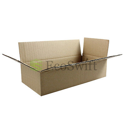 200 8x4x2 Cardboard Packing Mailing Moving Shipping Boxes Corrugated Box Cartons