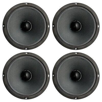 4 x Master Audio BMD8200 6.5