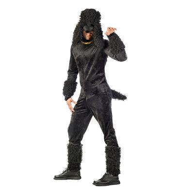 Pudel Hund Kostüm (Pudel Labradudel Hund Herren Kostüm Dog Poodle)
