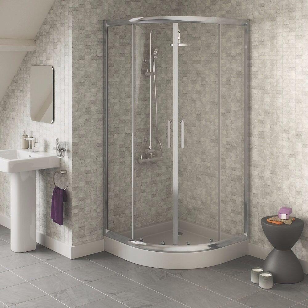 Swirl 800mm Quadrant Shower Enclosure