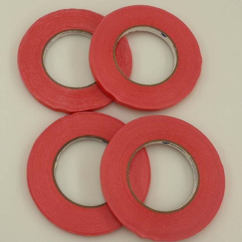 RED BAG SEALING TAPE 4 ROLLS 3/8 X 540