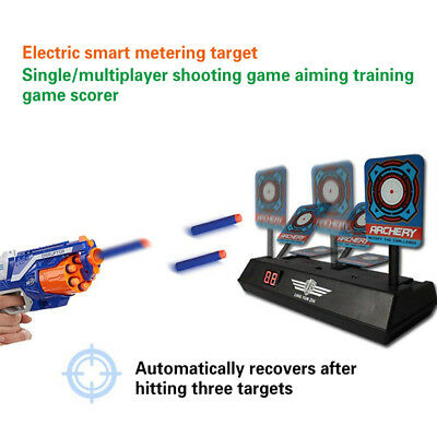 Electric Score Bullet Target Toy For NERF N-Strike Elite Blasters Kids Toy Gun