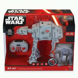 Brand New Star Wars AT-AT U-Command with Remote Control