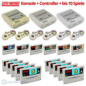SNES-Consola-Mando-Juegos-Grandes-Nintendo-Kit-tambien-con-Super-Mario
