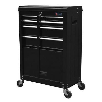Machine Box Cabinet Roller Steel Chest Storage Drawer Rolling Garage Mechanic Haul