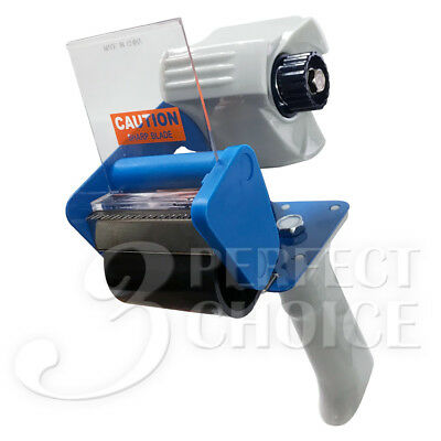 Heavy Duty 2 Tape Dispenser Gun Packaging Metal Frame Good Cutter Professional