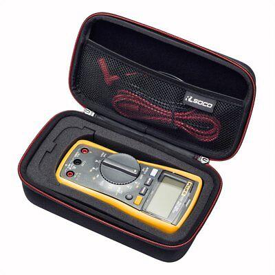 Rlsoco Carrying Case For Fluke 117115116113 Digital Multimeter And Fluke