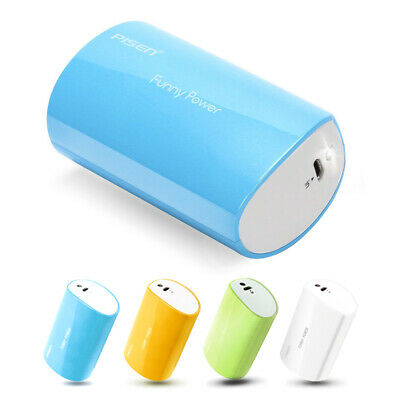 Mini Portable Power Bank 2500mAh USB External Battery Charger with Flashlight
