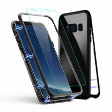Coque Magnetique Verre Trempé Bumper Anti Chocs Samusng Galaxy S8 S9 Plus S7
