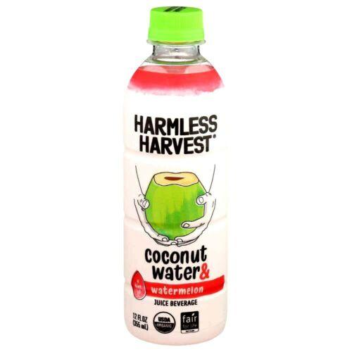 Harmless Harvest Coconut Water & Watermelon Juice Beverage 12 oz ( Pack of 12 )