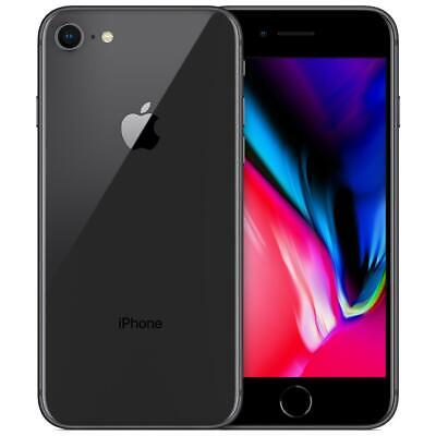 APPLE IPHONE 8 64GB NERO RICONDIZIONATO GRADO A + GARANZIA 12 MESI + ACCESSORI