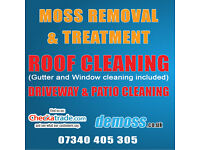 GUTTER CLEANING ROOF CLEANING DRIVEWAY & PATIO CLEANING SERVICES