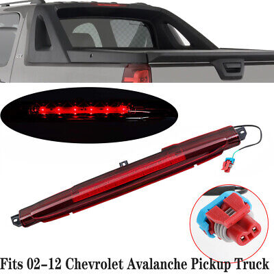 Fits 02-12 Chevrolet Avalanche Pickup Truck 3rd Third Brake Light CHMSL 15120540