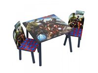 Avengers table and chair set
