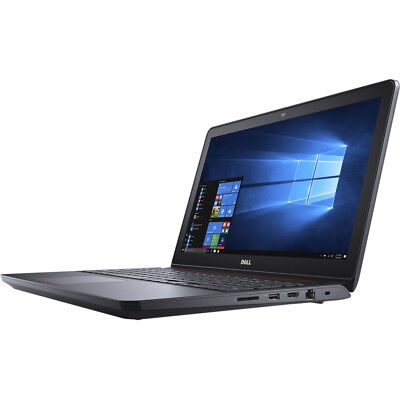 "Laptop - Dell i5577-5328BLK-PUS Inspiron 15.6"" Intel i5-7300HQ 8GB, 1TB Gaming Laptop"