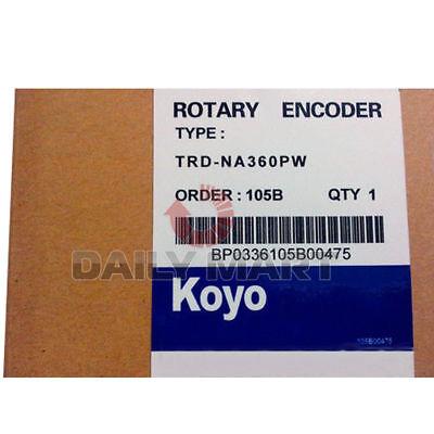 New Koyo Rotary Encoder Trd-na360pw Metric Encoders Absolute