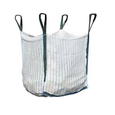 QTY 10 VENTED FIREWOOD LOG BULK BAGS 90x90x90cm VENTILATED LOG SACK 1000KGS