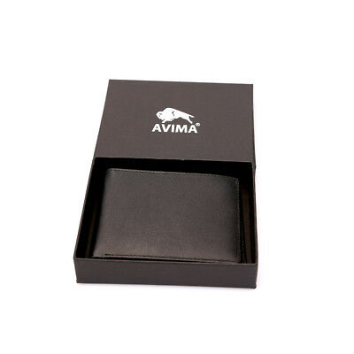Deluxe Advanced Technology RFID Blocking Wallet By AVIMA – Compact & Durable
